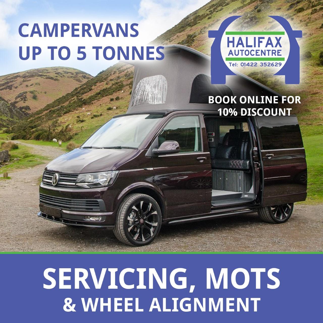 Halifax Autocentre - Campervan MOTs