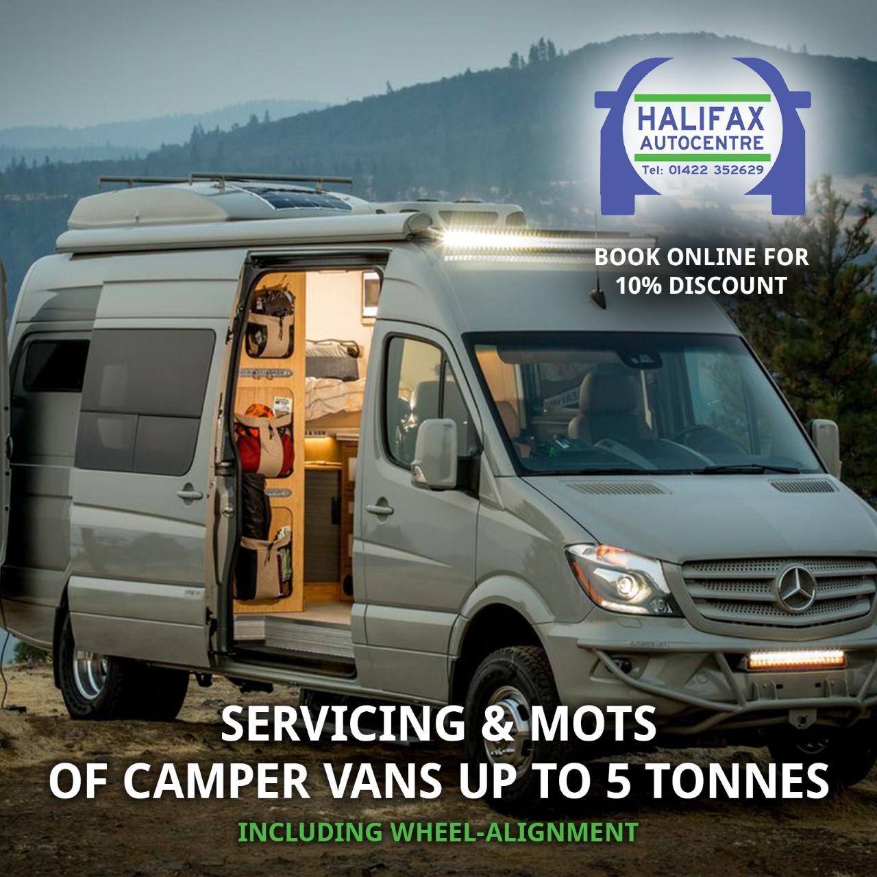 Halifax Autocentre - Campervan Servicing
