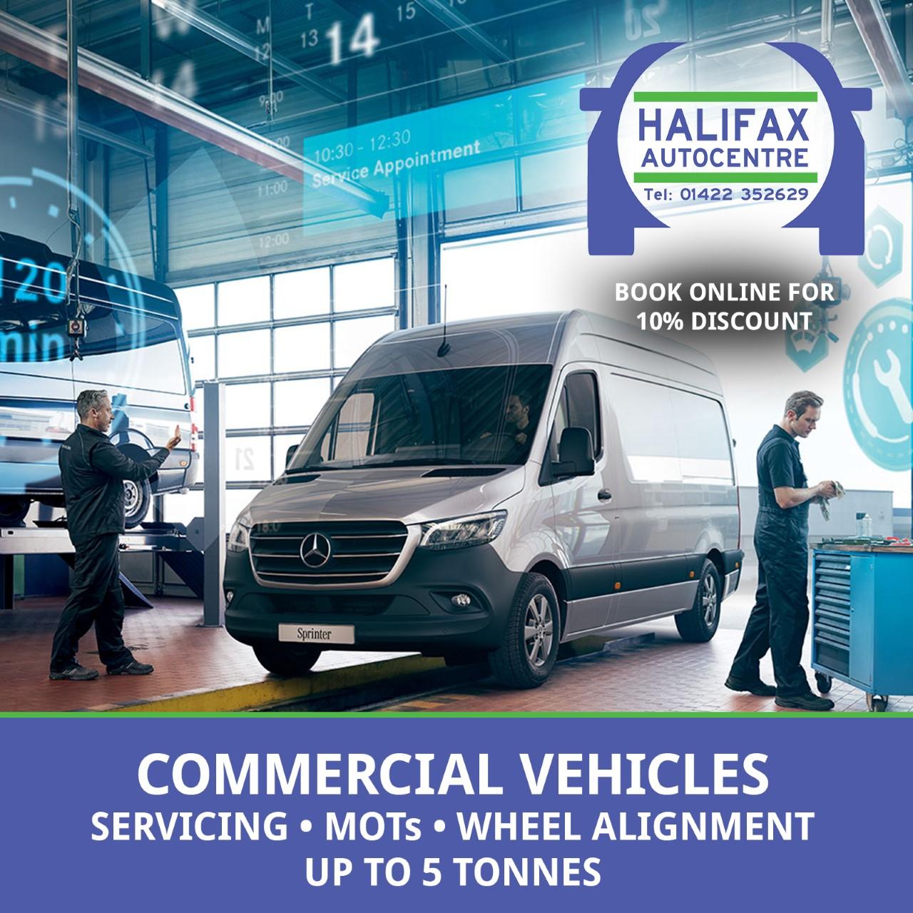 Halifax Autocentre - Commercial Vehicle MOTs