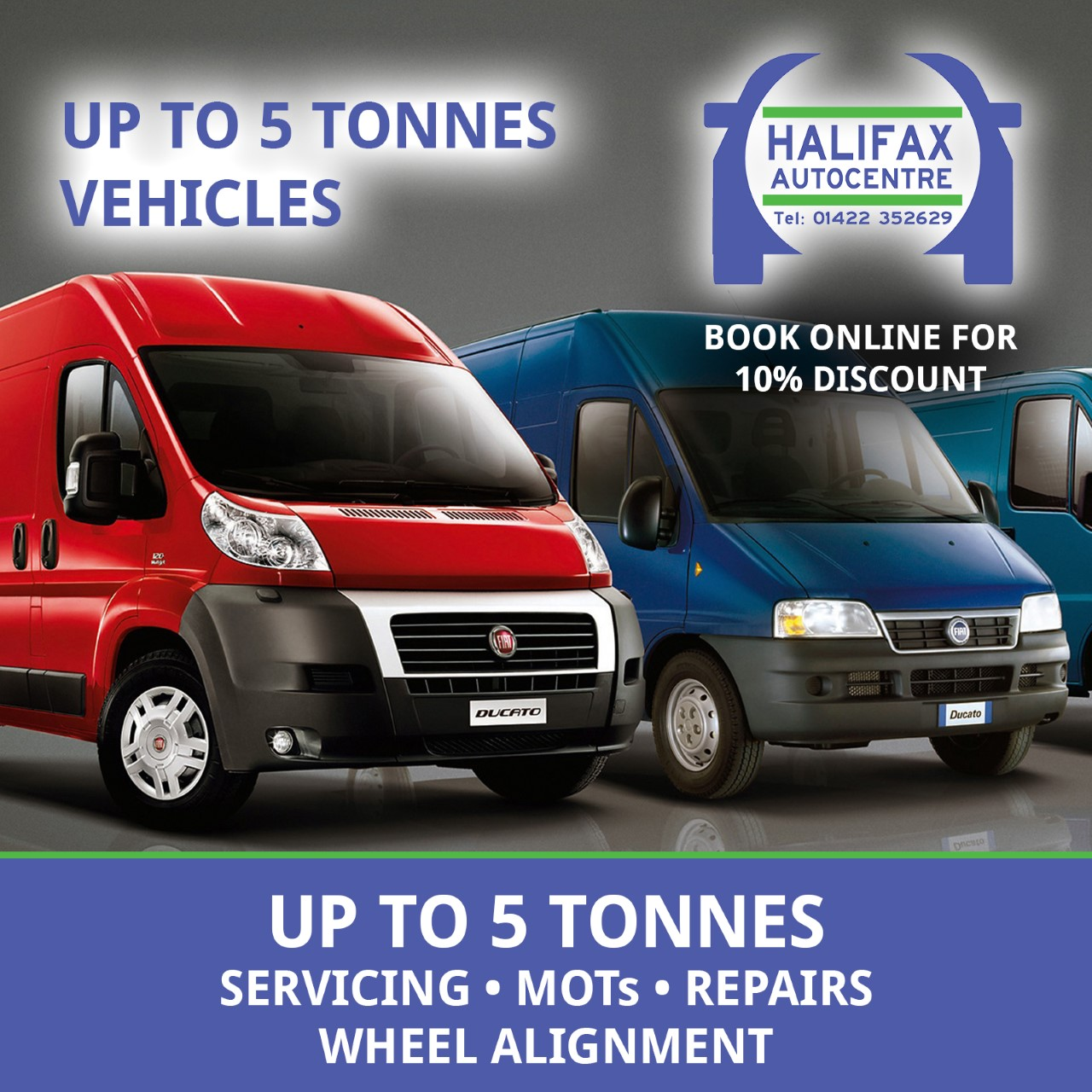 Halifax Autocentre - Commercial Vehicle Servicing