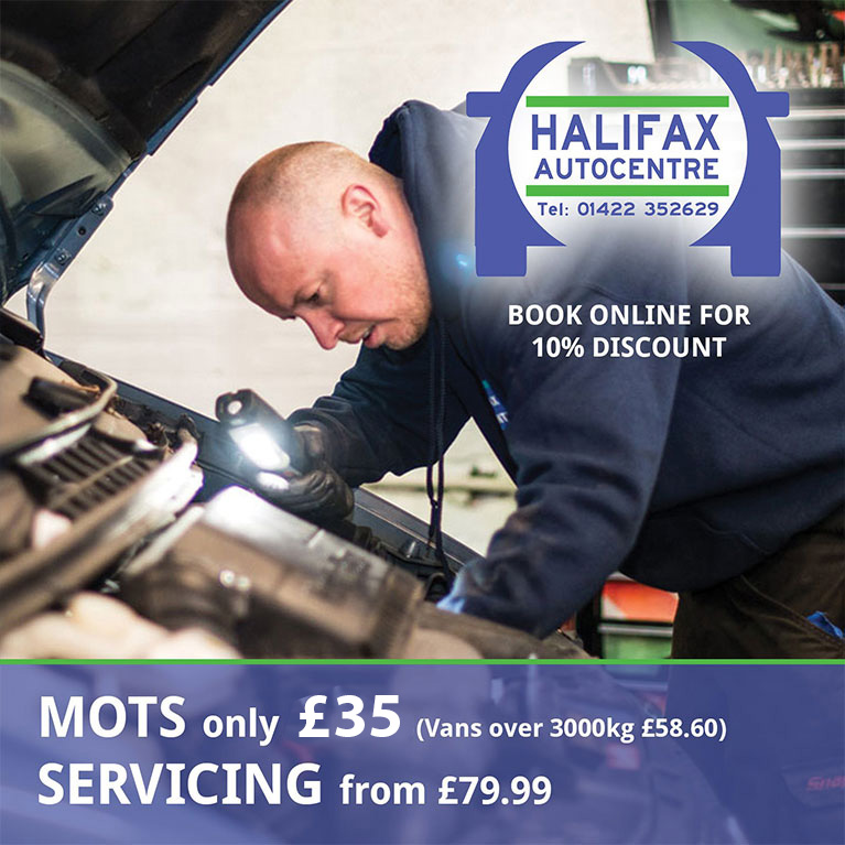 Halifax Autocentre - Servicing from £69.99