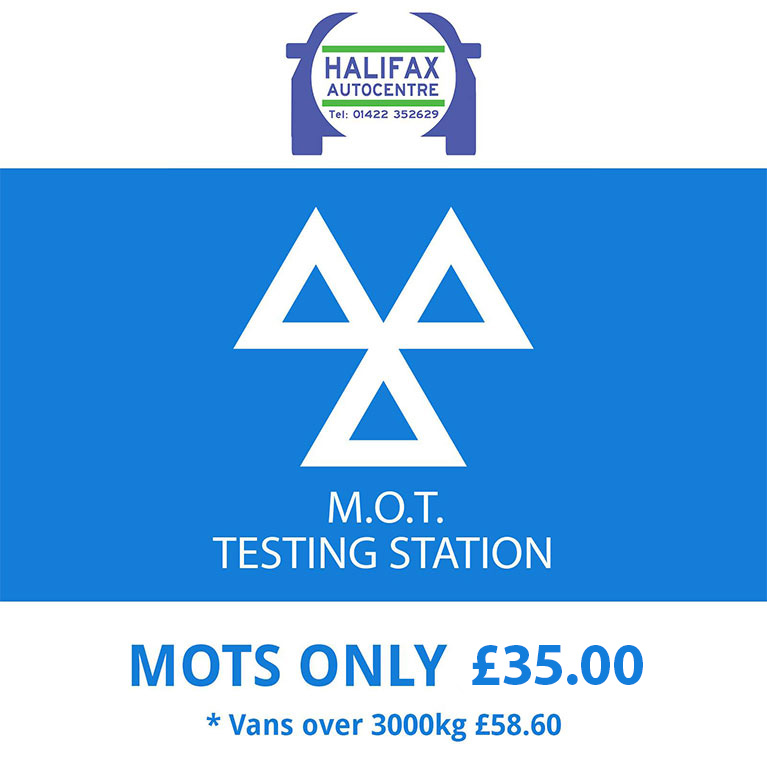 Halifax Autocentre - MOT only £29.99