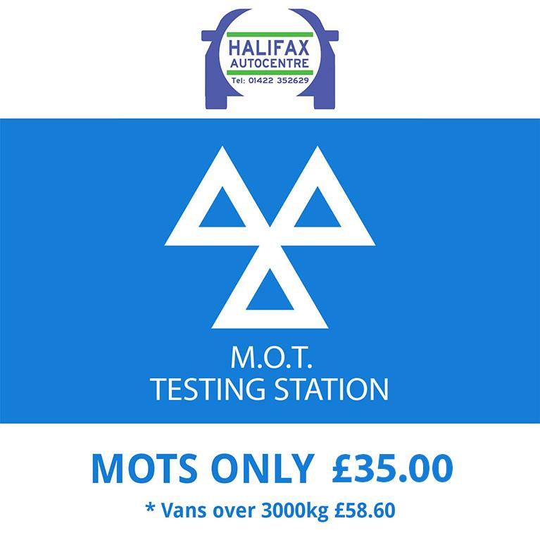 Halifax Autocentre - MOT only £29.99